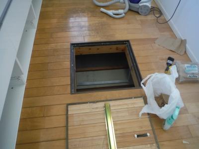 キッチンにある床下収納