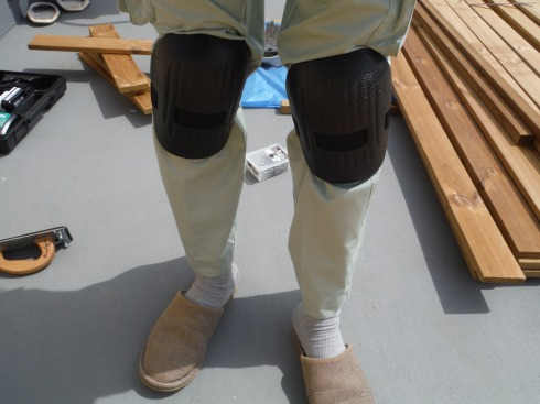 必需品の膝パッド