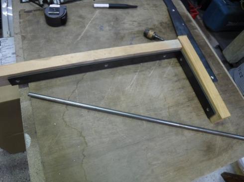 直角の冶具を作りました