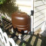 雨水タンク設置完了