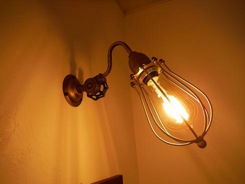ランプをニトリのものに変更