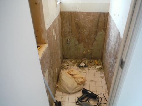 混沌としたトイレ