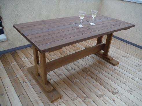 テーブル完成です
